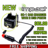 Impact DC-1 Radio Universal Single Rap..