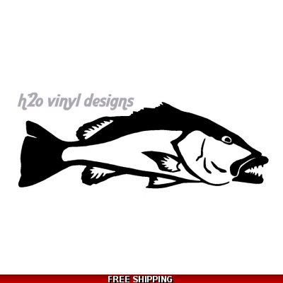 Cubera Snapper - Vinyl Sticker