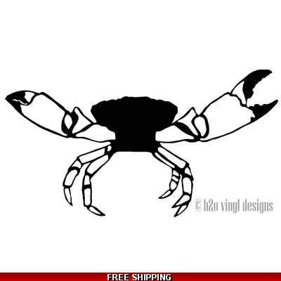 Stone Crab - Vinyl Sticker