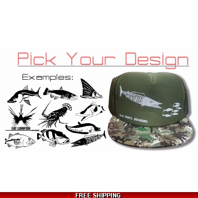Trucker Hat Camouflage - Any Design