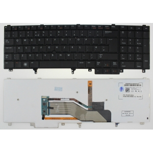 Dell Precision M4700 Backlit Uk Replacement Laptop Keyboard
