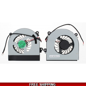 Clevo Hasee K590s K660e K650c Replacement Laptop CPU Cooling Fan