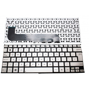 Asus Zenbook UX21 UX21E Silver Uk Replacement Laptop Keyboard