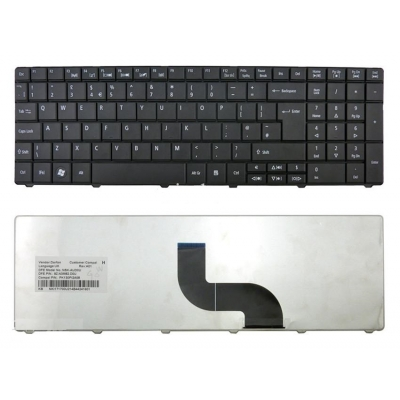 Acer TravelMate P253-M-32322G32Mnks Uk Replacement Laptop Keyboard