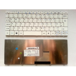 Acer Aspire One D260 Uk Replacement Laptop Keyboard White