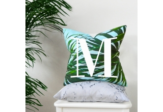 Kuta alphabet cushion cover
