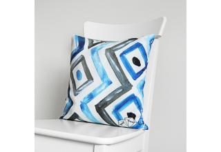 Kensington ikat cushion cover