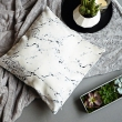 Marble cushion cover