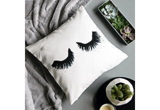 Upper East Eyelash cushion cover