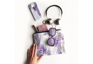 Wisteria Portfolio clutch bag