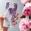 Wisteria monogram phone..