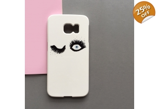 Keep an eye on you fluttery lashes phone case