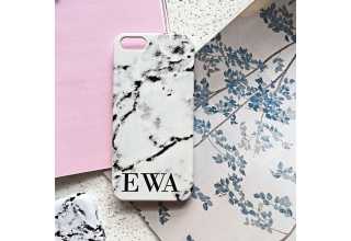 Marbled personalised phone case style 04