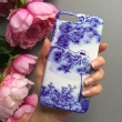 Blue and white porcelain print phone case