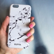 Monogram Marble print phone case