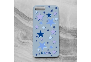 Star gazer monogram phone case