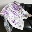 Wisteria blanket throw