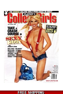 Playboy's College Girls July/August 2006
