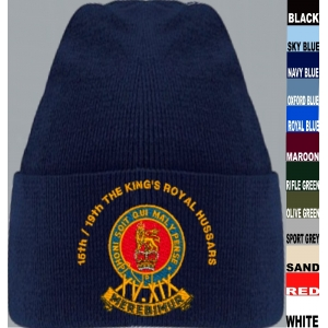 15th/19th The Kings Royal Hussars Beanie