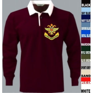 1st Kings Dragoon Guards Rugby Shirt