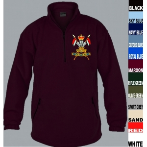 9th Lancers 1/4 Zip Fleece