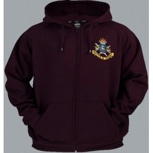 Sherwood Foresters Full Zip Hoody