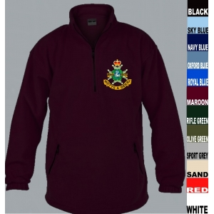 Sherwood Foresters 1/4 Fleece