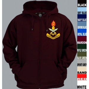 Gurkha Engineers Full Zip Hoody