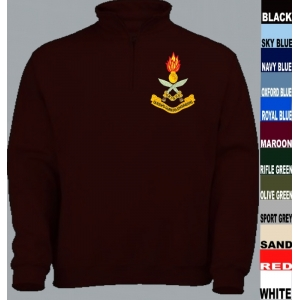 Gurkha Engineers 1/4 Zip Sweatshirt