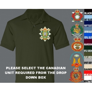 Canadian Army Polo Shirt