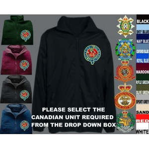 Canadian Army Mistral Jackets Both Sides