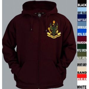 14th 20th King's Hussars Full Zip Hoody