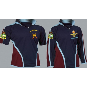 1 A Rhodesian Regimental 3&4+ Colour Kooga Style Rugby Shirt
