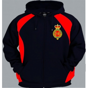 1 A HCR Regimental Colour Zup Up Hoody