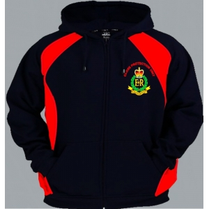 1 A RMP Regimental Colour Zup Up Hoody