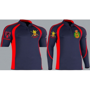 1 a Kooga style corps colour rugby shirt