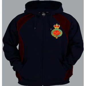 1 A Guards HCR Regimental Colour Zip U..