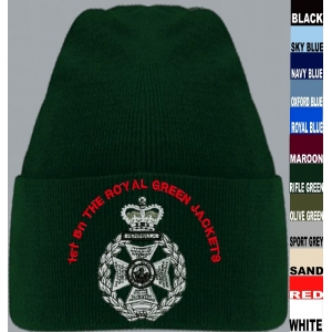 Royal Green Jackets Beanie Hat