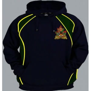 Canadian Army Regimental Colour Zip Up..