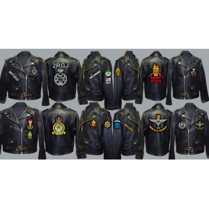 Regimental Biker Patches