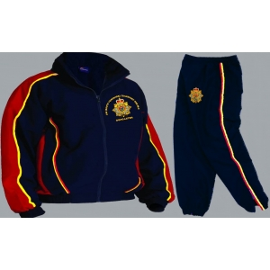 1 A Royal anglian Colour Tracksuit