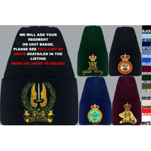 Canadian Army Beanie Hat