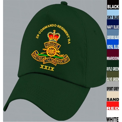 RA Embroidered Baseball Cap title=