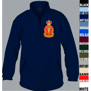 Army Catering Corps 1/4 Zip Fleece