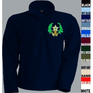 Cameronians 1/4 Zip Fleece