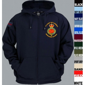 Grenadier Guards Full Zip Hoody