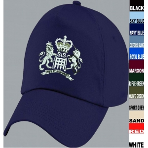 SIS MI6 James Bond Baseball Cap