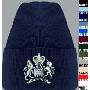 SIS MI6 James Bond Beanie Hat