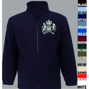 SIS MI6 James Bond Fleece Jacket