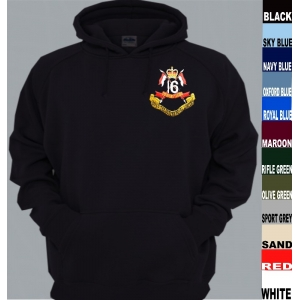 16th/5th Lancers Pullover Hoody
